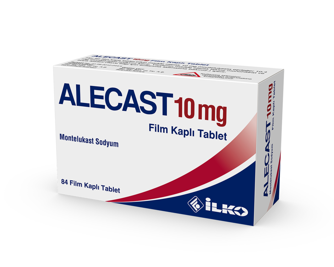 Alecast 10 Mg 84 Film Tablet