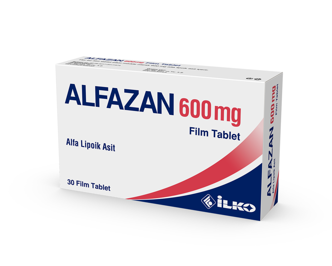 Alfazan 600 Mg 30 Film Tablet