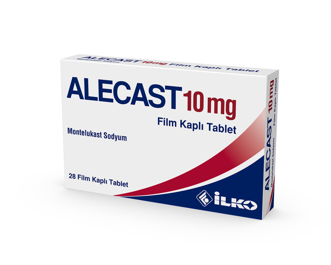 Alecast 10 Mg 28 Film Tablet