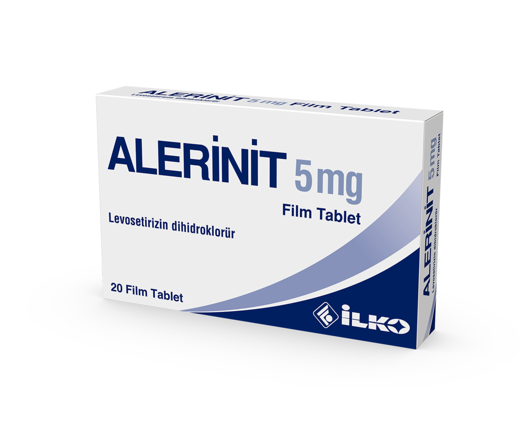 Alerinit 5 Mg 20 Film Tablet